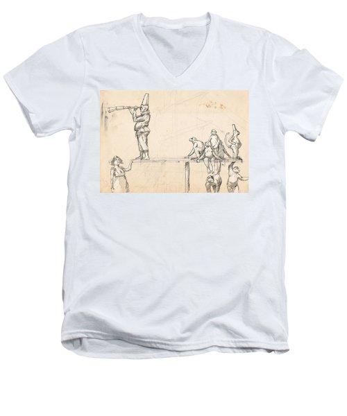 The Captain Men's V-Neck T-Shirt