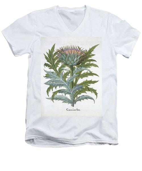 The Cardoon, From The Hortus Men's V-Neck T-Shirt