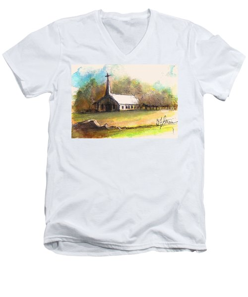 The Church Men's V-Neck T-Shirt