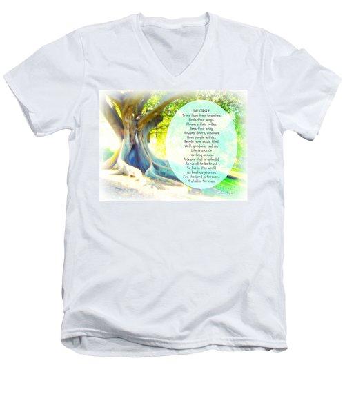 The Circle Men's V-Neck T-Shirt