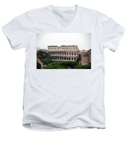 The Coliseum  Men's V-Neck T-Shirt