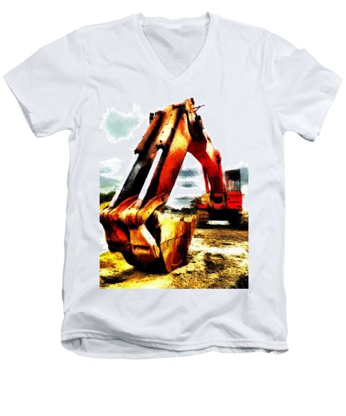 The Crab Claw Men's V-Neck T-Shirt