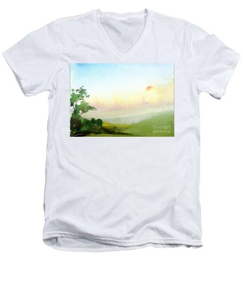 The Dawn Men's V-Neck T-Shirt
