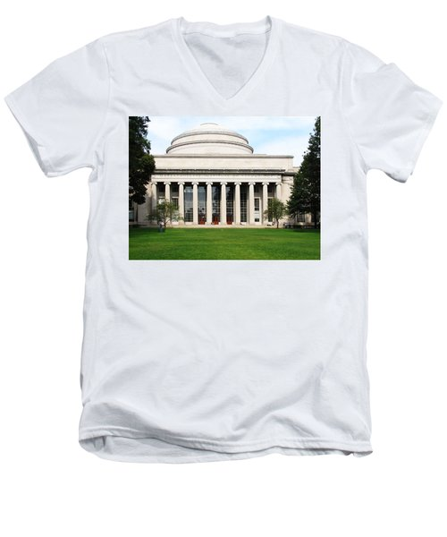 The Dome At Mit Men's V-Neck T-Shirt