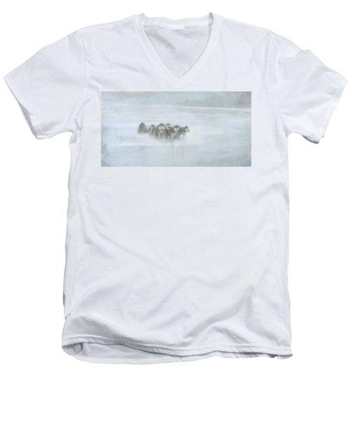The Explorer Men's V-Neck T-Shirt