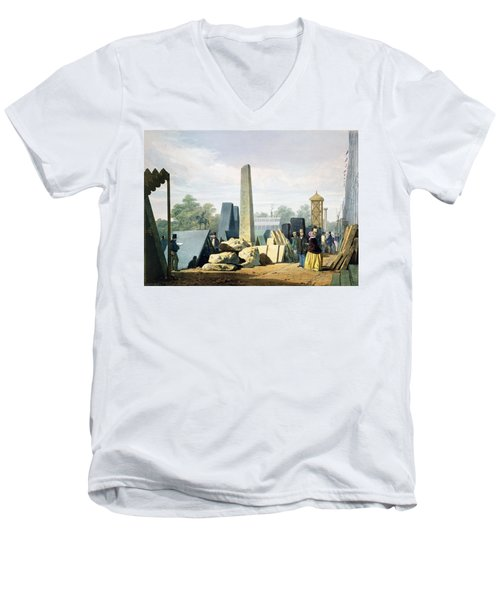 The Exterior, From Dickinsons Men's V-Neck T-Shirt by English School