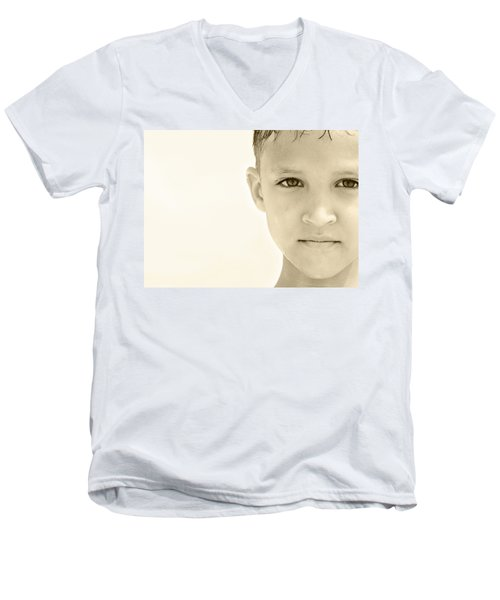 The Eye Of A Child Men's V-Neck T-Shirt