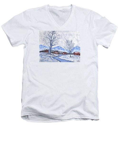 The Farm Life Men's V-Neck T-Shirt