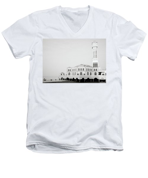 The Floating Mosque Men's V-Neck T-Shirt