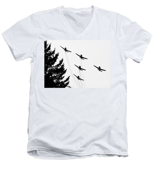 The Fly Past Men's V-Neck T-Shirt