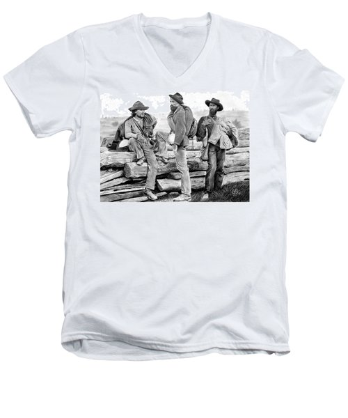 The Forgotten Soldiers Men's V-Neck T-Shirt