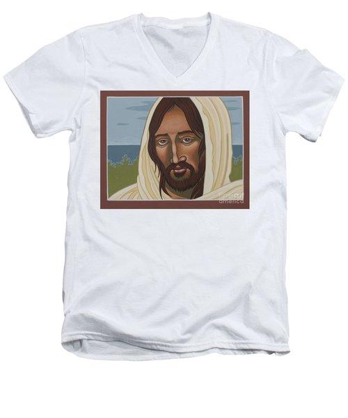 The Galilean Jesus 266 Men's V-Neck T-Shirt