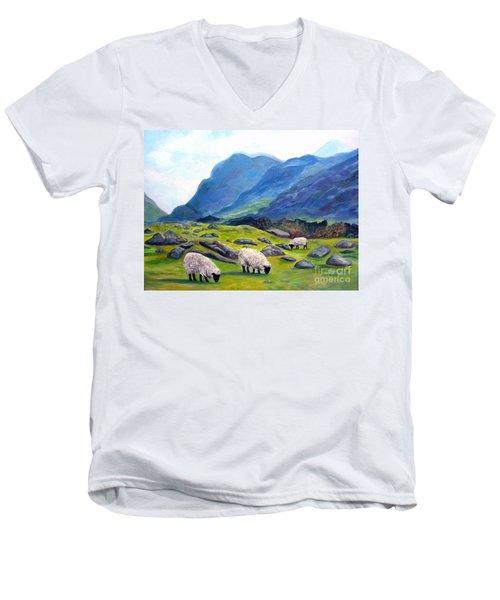 The Gap Of Dunloe Kilarney Ireland Men's V-Neck T-Shirt