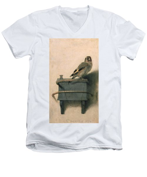 The Goldfinch Men's V-Neck T-Shirt