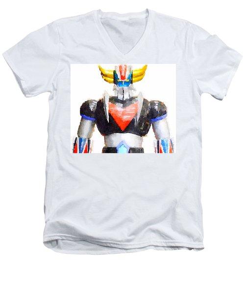 The Goldorak Men's V-Neck T-Shirt