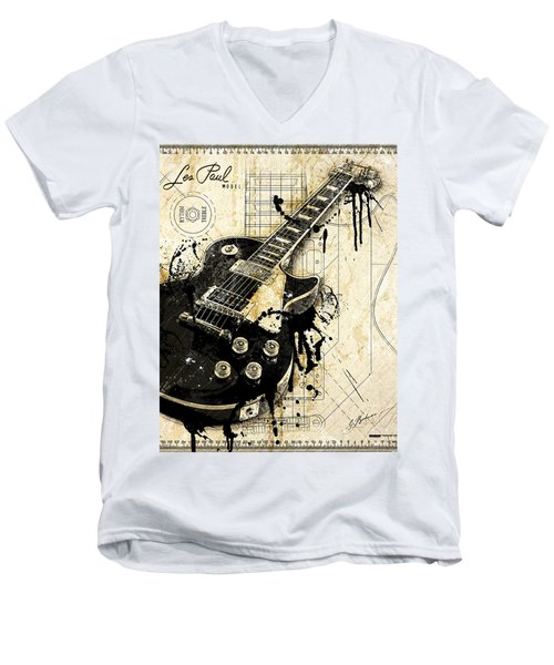 The Granddaddy Men's V-Neck T-Shirt by Gary Bodnar