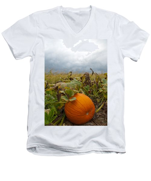 The Great Pumpkin Men's V-Neck T-Shirt