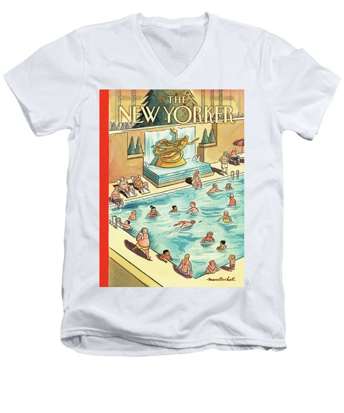 The Great Thaw Men's V-Neck T-Shirt