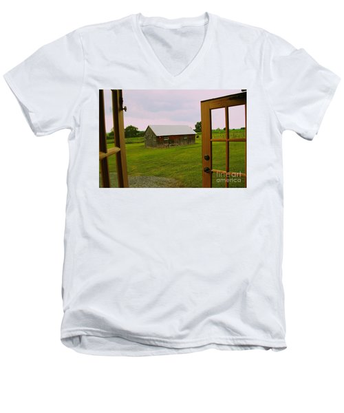 The Grounds Men's V-Neck T-Shirt by William Norton