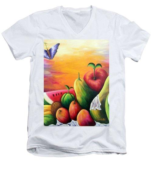 The Harvest 1 Men's V-Neck T-Shirt