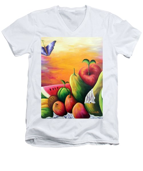 The Harvest 1 Men's V-Neck T-Shirt