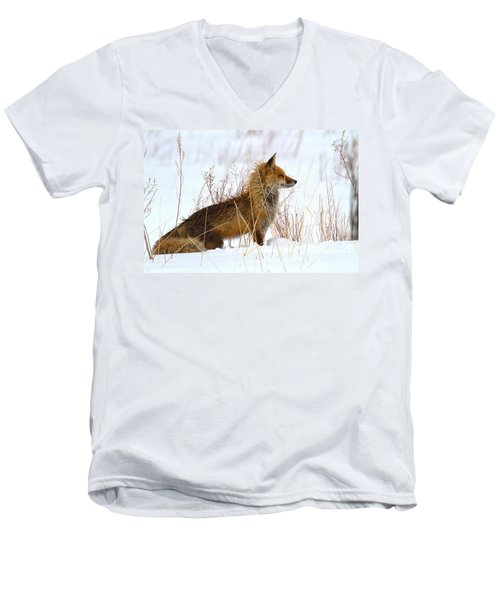 The Huntress Men's V-Neck T-Shirt