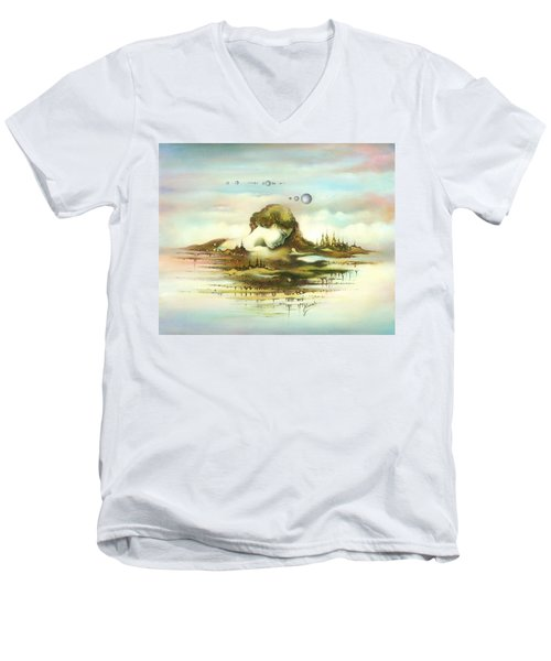 The Island Men's V-Neck T-Shirt