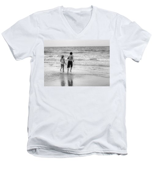 The Last Wave Men's V-Neck T-Shirt