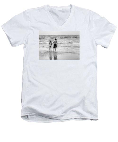 The Last Wave Men's V-Neck T-Shirt