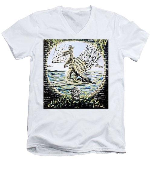 The Machine Men's V-Neck T-Shirt