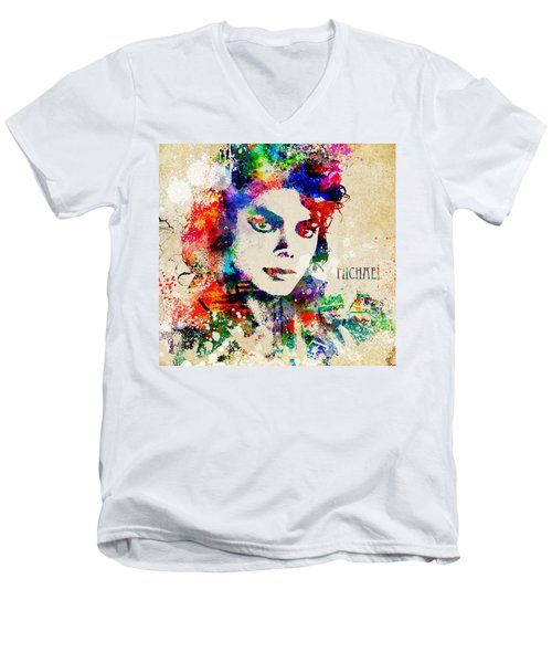 The Man In The Mirror Men's V-Neck T-Shirt