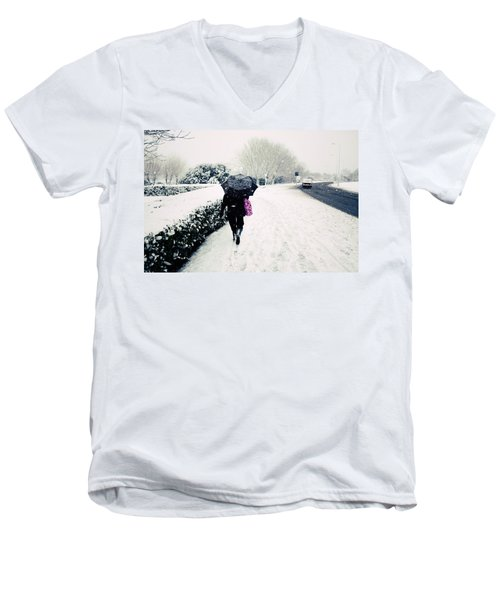 The Morning Commute Men's V-Neck T-Shirt