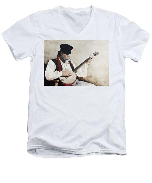 The Music Man Men's V-Neck T-Shirt