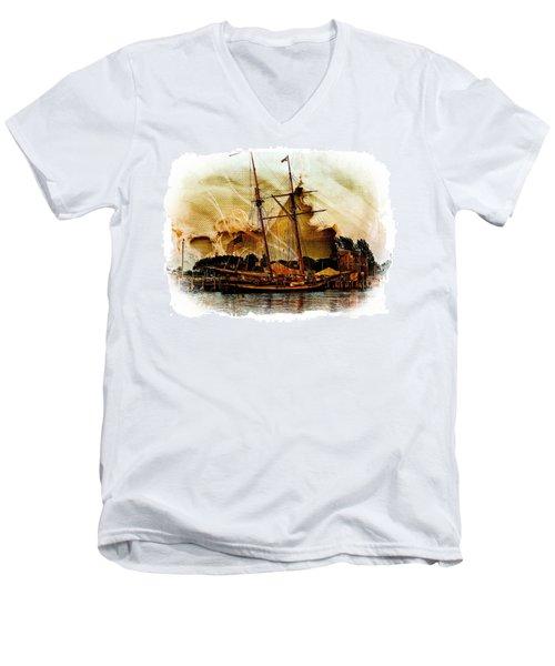 The Mystic Men's V-Neck T-Shirt