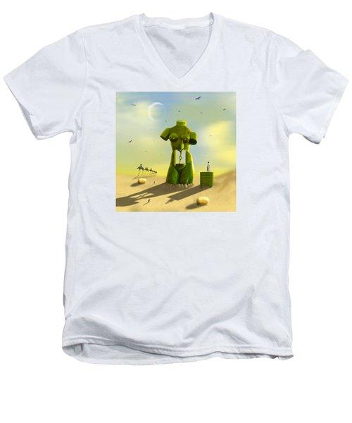 The Nightstand Men's V-Neck T-Shirt