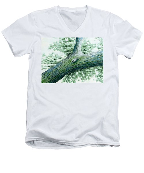 The Nuthatch Men's V-Neck T-Shirt