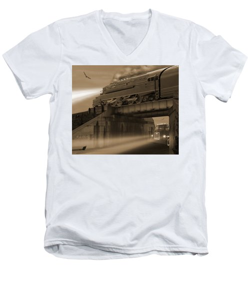 The Overpass 2 Men's V-Neck T-Shirt