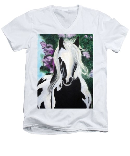 The Painted One Men's V-Neck T-Shirt