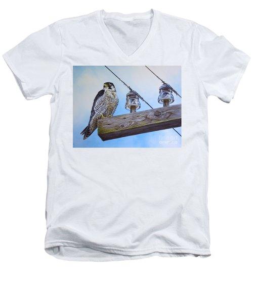 The Perfect Predator Men's V-Neck T-Shirt