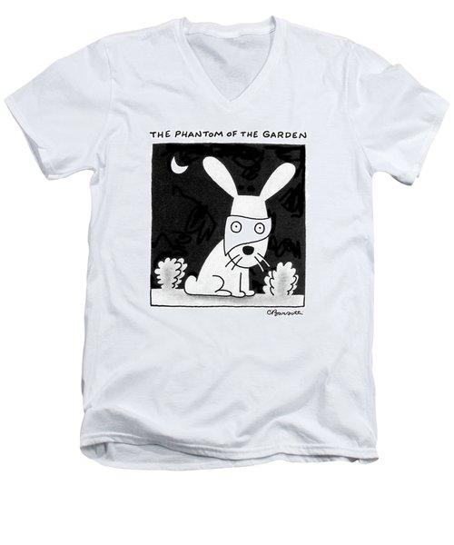 The Phantom Of The Garden Men's V-Neck T-Shirt