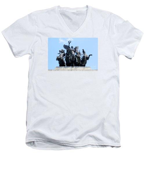 The Quadriga Men's V-Neck T-Shirt