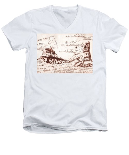 The Rocks Men's V-Neck T-Shirt