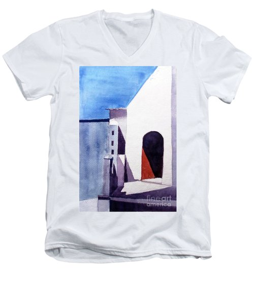 The Shadow Play Men's V-Neck T-Shirt