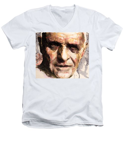 The Silence Of The Lambs Men's V-Neck T-Shirt