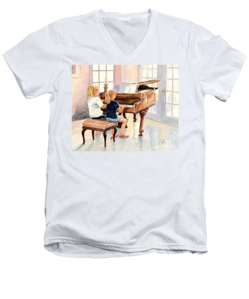 The Sister Duet Men's V-Neck T-Shirt