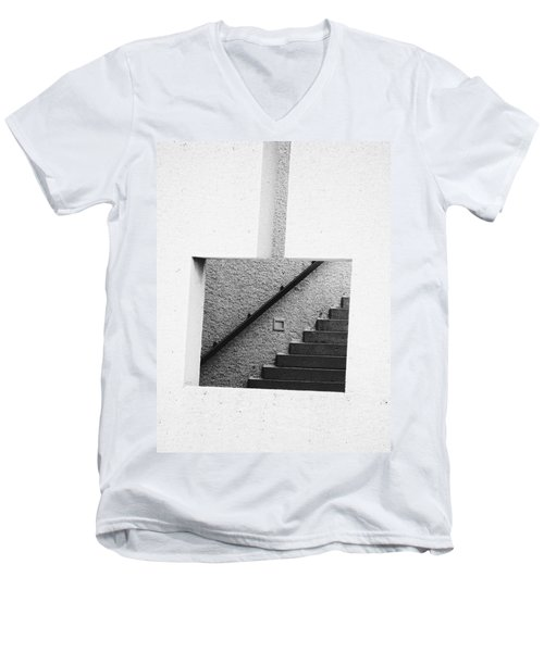 The Stairs In The Square Men's V-Neck T-Shirt