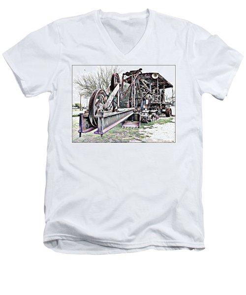 The Steam Shovel Men's V-Neck T-Shirt