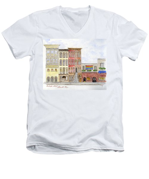 The Stonewall Inn Men's V-Neck T-Shirt