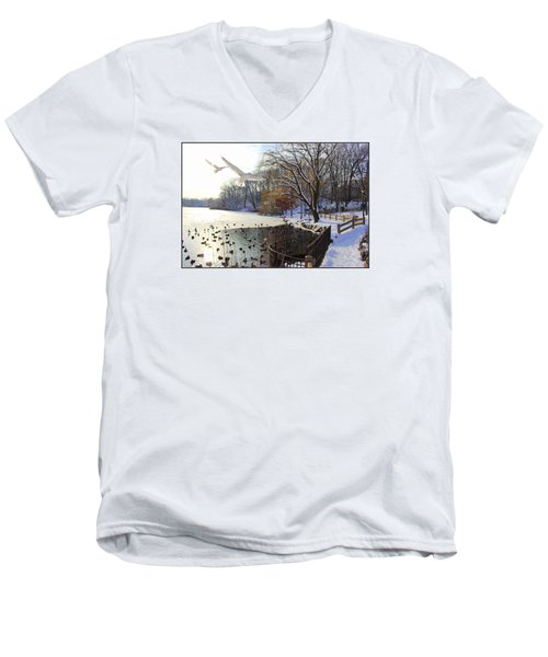 The End Of The Storm Men's V-Neck T-Shirt