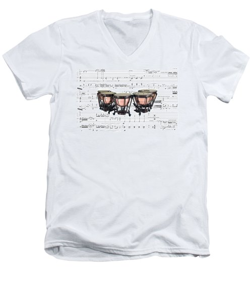 The Timpani Men's V-Neck T-Shirt